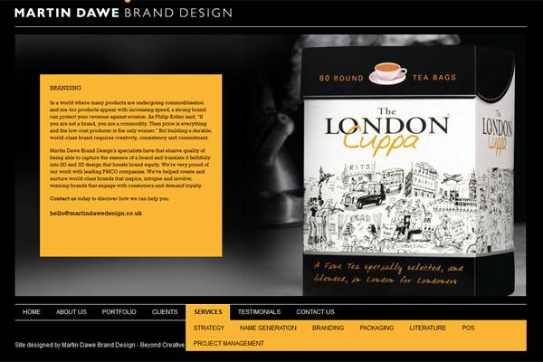 New website created by Steve Gunn & Associates with Beyond Creative Thinking.
